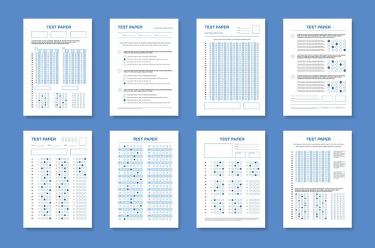 Realistic Test Papers Set