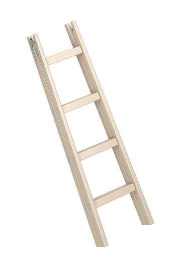 Wood double step ladder