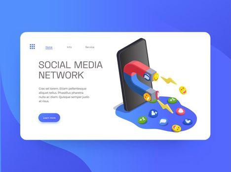Social Media Network Website