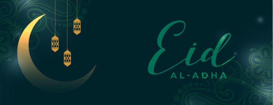 eid al adha celebration banner design