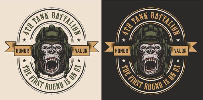 Apparel design with gorilla