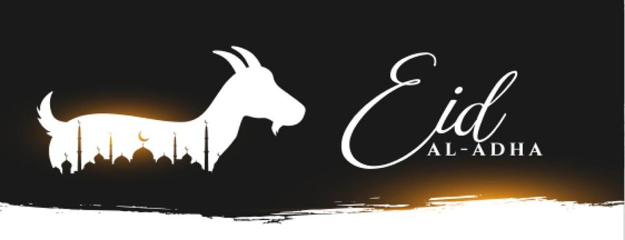 eid al adha holiday banner design