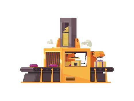 Robotic Conveyor Illustration
