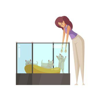Pet Shop Illustration
