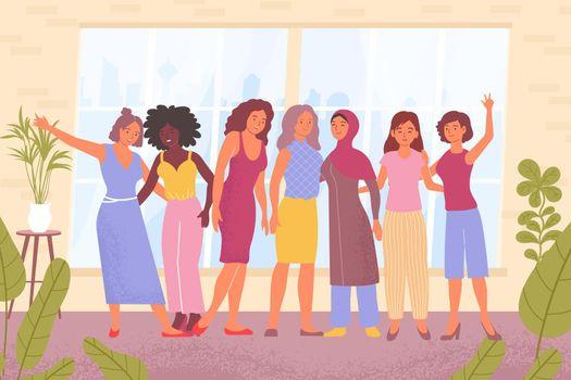 Womens Day Flat Illustration