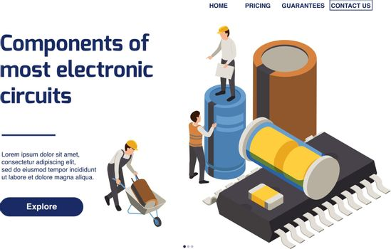 Semiconductor Production Page Design