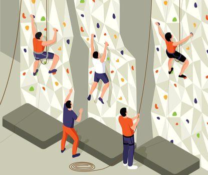 Isometric Climb Training Composition