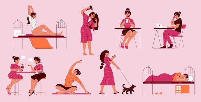 Girl Everyday Activities Set