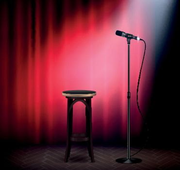 Stand Up Show Realistic