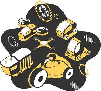 Future Technology Vector Illustration