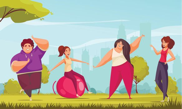Body Positive Fitness Composition