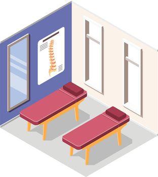 Orthopedics Hospital Vector Illustration