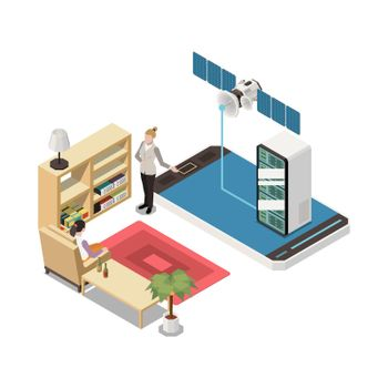 Home Server Link Composition
