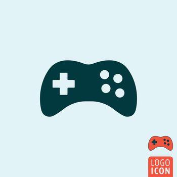Gamepad icon isolated