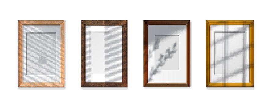 Shadow Glass Frames Set