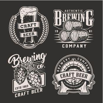 Vintage brewing prints
