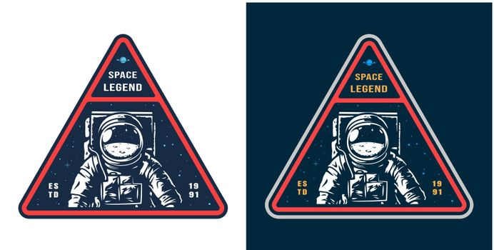 Colorful space label