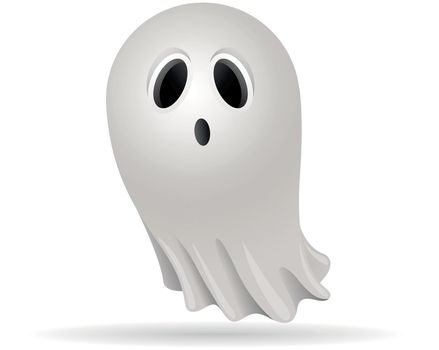 Color Icon - Halloween ghost