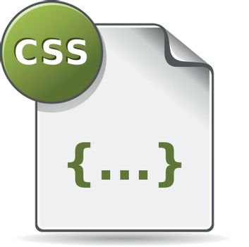 Color Icon - CSS file format