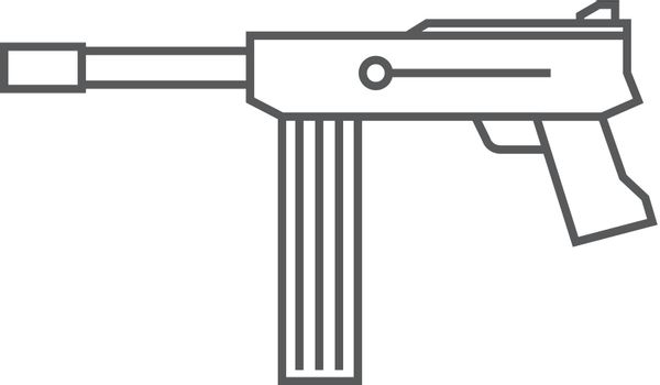 Outline icon - Vintage Firearm