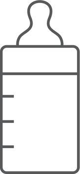 Outline icon - Milk bottle