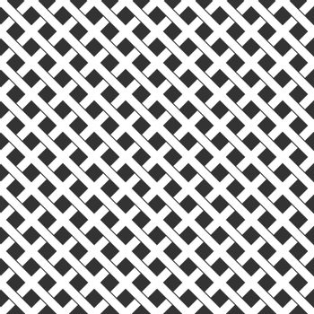 Geometric color-editable pattern of intersecting lines for textures, textiles, and simple backgrounds. Flat Style