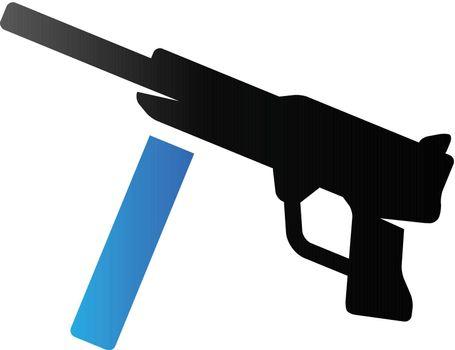 Duo Tone Icon - Vintage Firearm