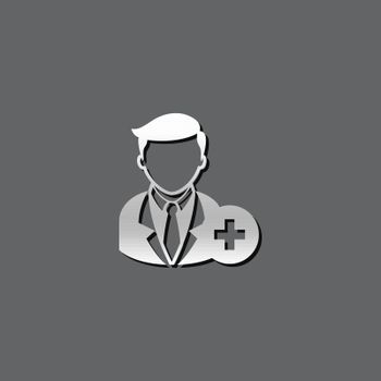 Metallic Icon - Add team member