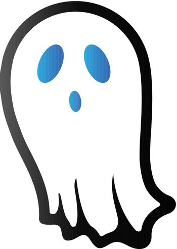 Duo Tone Icon - Halloween ghost