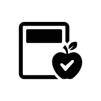Calorie calculator icon