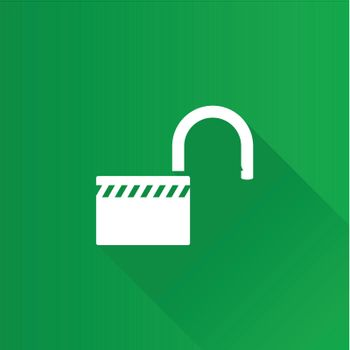 Metro Icon - Padlock unlocked