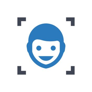 Face detection icon