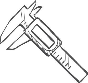 Sketch icon - Digital caliper