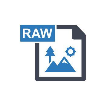 Raw image icon