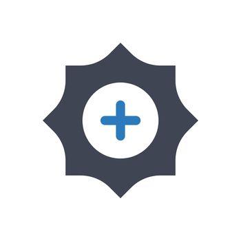 High brightness icon