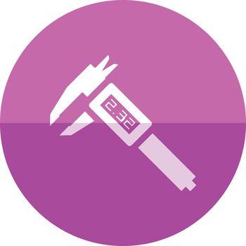 Circle icon - Digital caliper