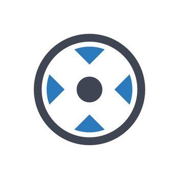 Camera focus icon
