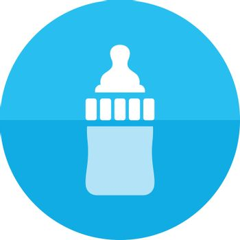 Circle icon - Milk bottle